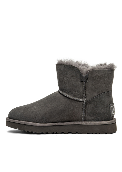 UGG W Mini Bailey Button Bling (1016554-GREY)